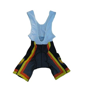 Custom sublimated sportswear padded cycling shorts,cycling bib shorts with chamois/Gel pad