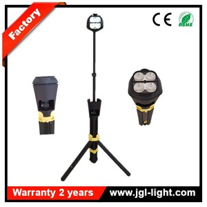 Explosion proof CREE 20W LED portable lighting replacement battery Tripod LED Work Light