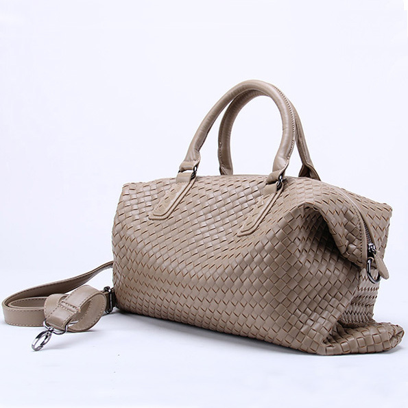Buy 2015 Large Soft Women Woven Tote Travel Bag Transformable With ...