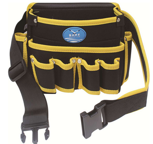 Multi-function polyester material high density electrician tool belt waist bag