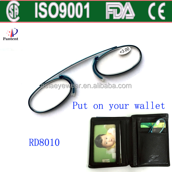 b42c0361bc Pocket Reading Glasses Small Reading Glasses Mini Metal Readers ...