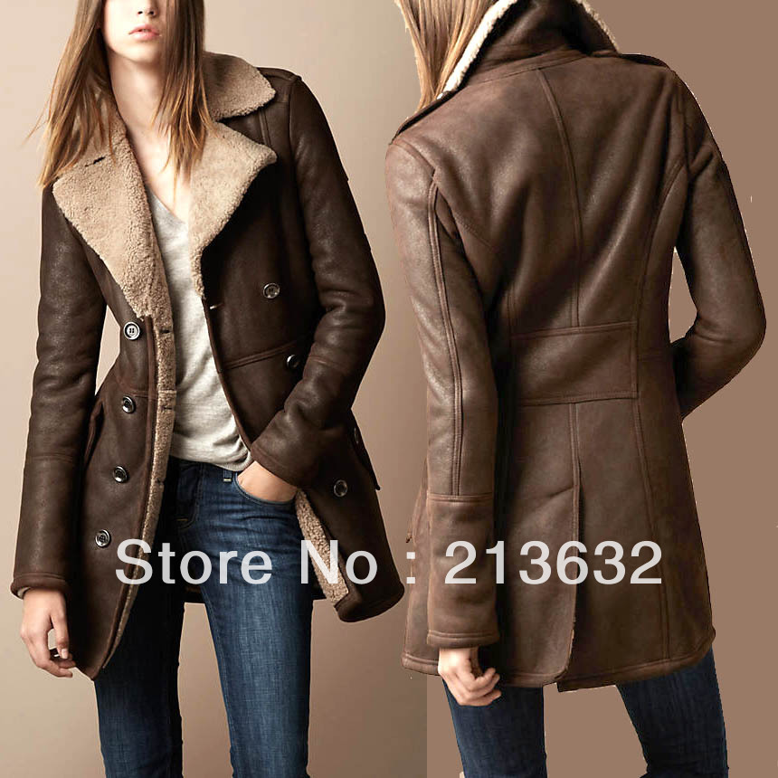 cfb8de32d7ac Womens Brown Winter Coat - JacketIn