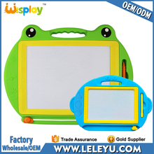 Popular educational kids erasable magnetic writing board drawing board