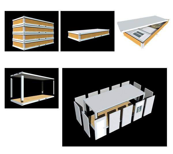 Wonen mobiele huis container te koop prefab huizen product id 1996251437 - Huis in containers ...