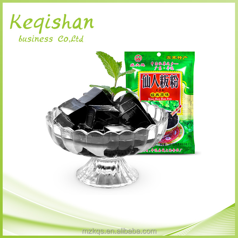 Manufacturers in china sales Natural Grass Jelly Powder