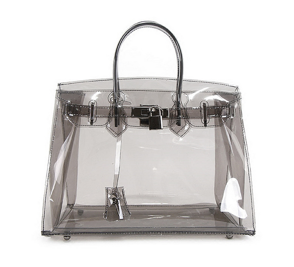 Wholesale hot selling cheap clear ladies fashion pvc handbag