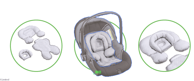Support Pram Stroller Protection Neck Baby Car Seat Pillow Head Body Rest Infant Pillow Support