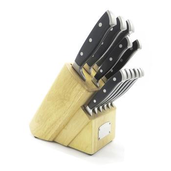Couteau Professionnel Allemand En Acier Forge 14pc En Acier