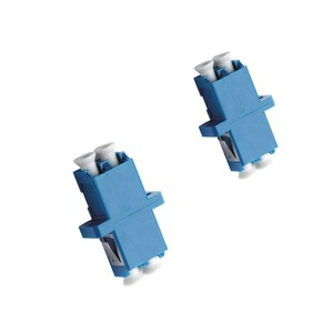 LC Type Fiber Optic Adapters for Active Device / Transceiver with Compact Design