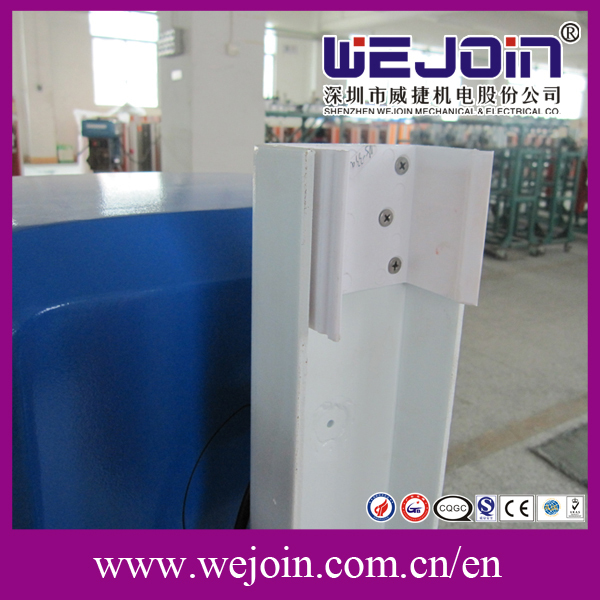 Infared photocell Automatic Moisture Control Barrier Gate with LED Screen for Parking System