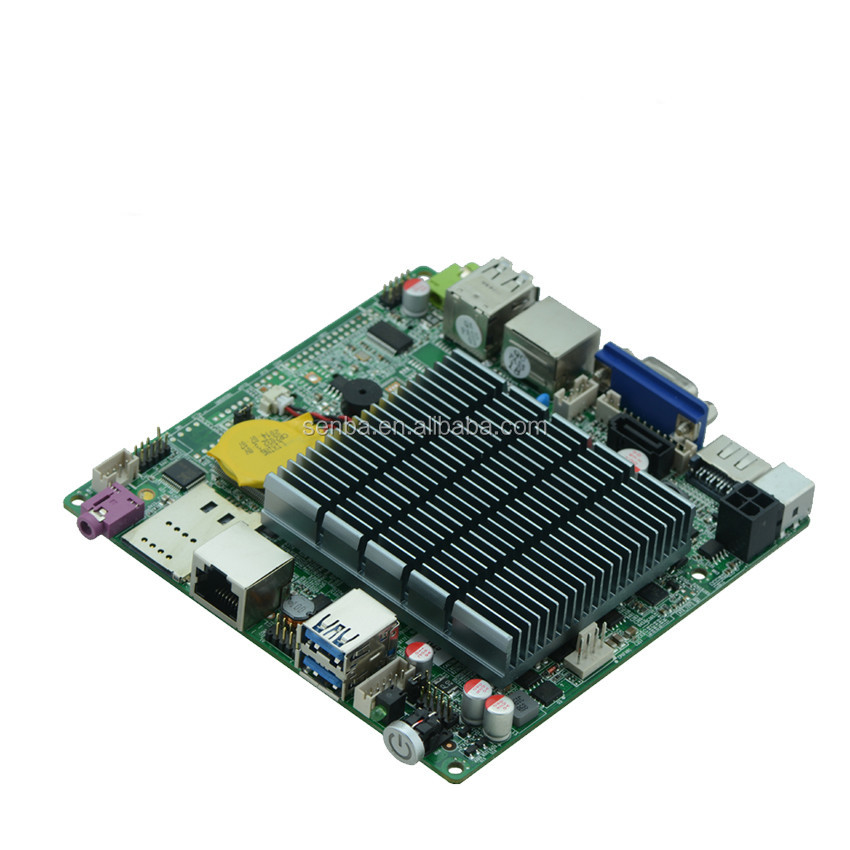 factory price hdmi 1080p intel 4 cores j1900 motherboard with onboard cpu usb3.0