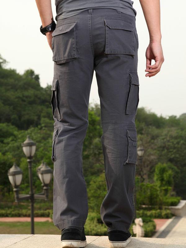 Mens Cargo Pants With Many Pockets - Buy Cargo Six Pocket Pants ...
