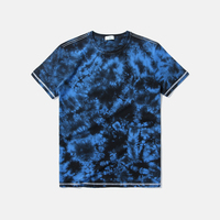 Manufacturers in china wholesale fashional custom printing cotton tie dye t shirts