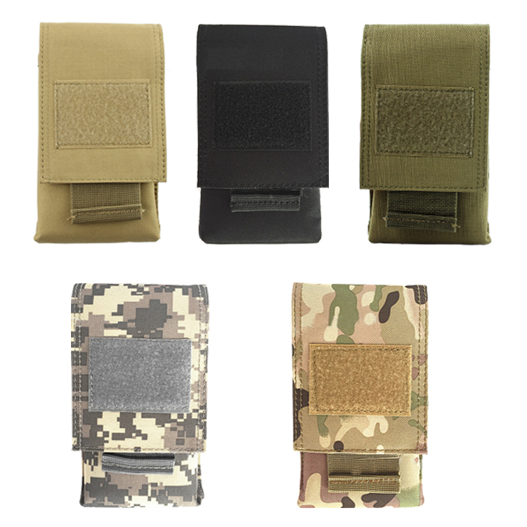tactical molle pouch vest mobile phone carry bag