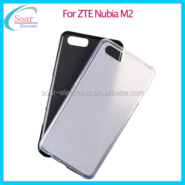 Mobile Phone Soft Jelly TPU Case For ZTE Nubia M2 Smart Phone