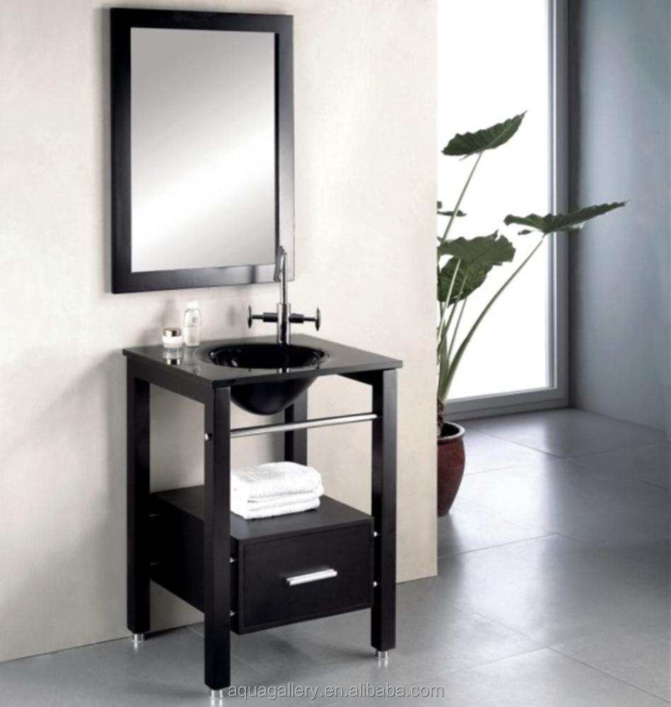 toilettes en verre tremp meuble vasque meuble lavabo de. Black Bedroom Furniture Sets. Home Design Ideas