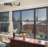 RRAJ China manufacturer sunscreen roller blinds fabric , sunshade curtain blinds