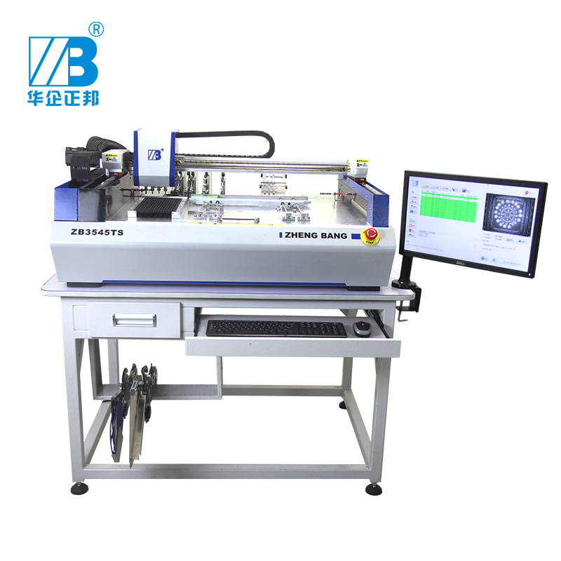 T tafel top goedkope Chip Mounter SMT Pick and Place Machine Visuele Type SMT Prototype Machine