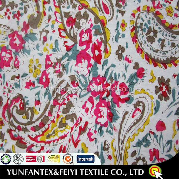 2018 Popular Italian cotton fabric wholesale fabric with good quality and cheap price