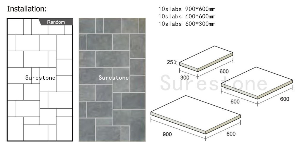 Rusty natural stone floor tiles standard size. Rusty Natural Stone Floor Tiles Standard Size   Buy Rusty Natural