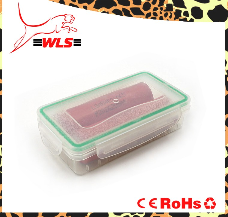strong High Quality waterproof 18650 battery holder plastic case/18650 battery plastic battery case/18650 battery case