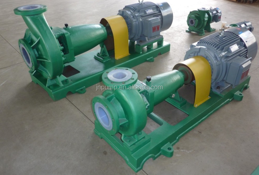 FEP material lined chemical centrifugal pump Made in China