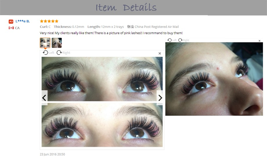 663a218bfba Detail Feedback Questions about 0.15 Thickness Individual Eyelash ...