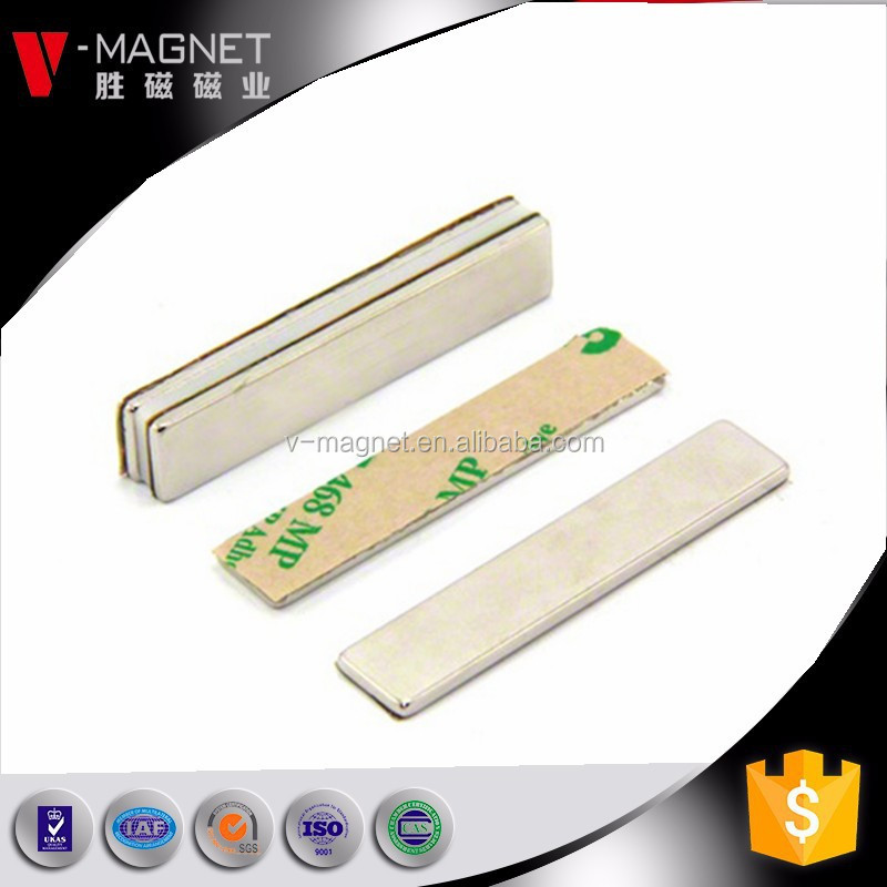 Strong Magnetic Rectangle NdFeB Dual Holes Maget