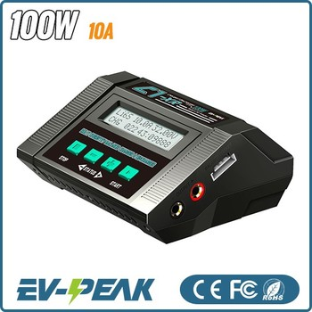 Ac/dc Power 100w 10a Ev-peak C1-xr Rc Battery Charger For Car ...