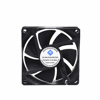 Axial Flow Fans CE ROHS 80 inch 8020 ball bearing 12v dc small Computer case cpu cooling fan