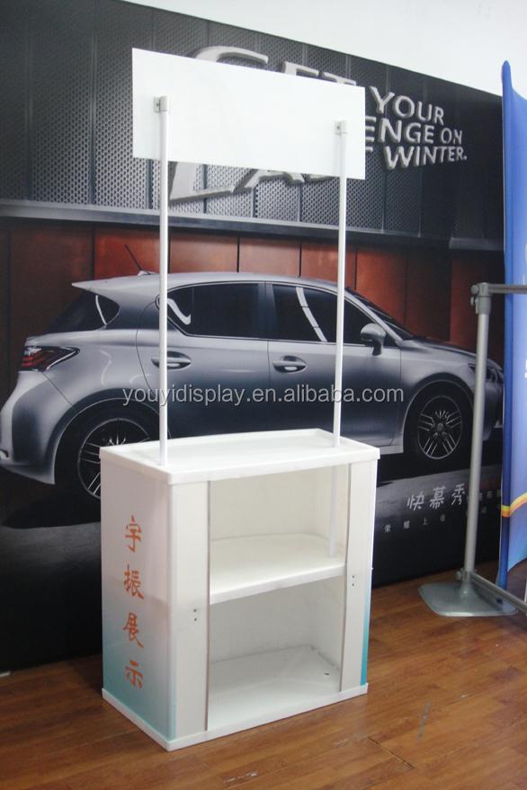 Portable Exhibition Table : Abs portable exhibition display table buy