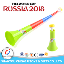 2018 world cup football fan items vuvuzela plastic french horn