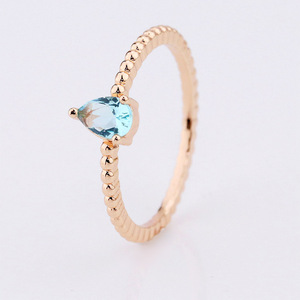 one single stone ring designs ladies gold finger ring