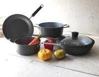 Hard Anodized Aluminium marble stone non-stick coating cookware set