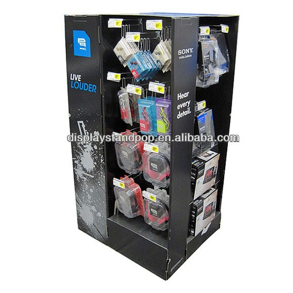 Promotional and Advertising Free Standing Cardboard Display Panel for Exhibition
