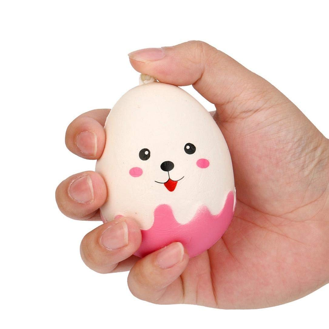 Creazy Cute Egg Expression Squishy Slow Rising Cream Scented Decompression Toys