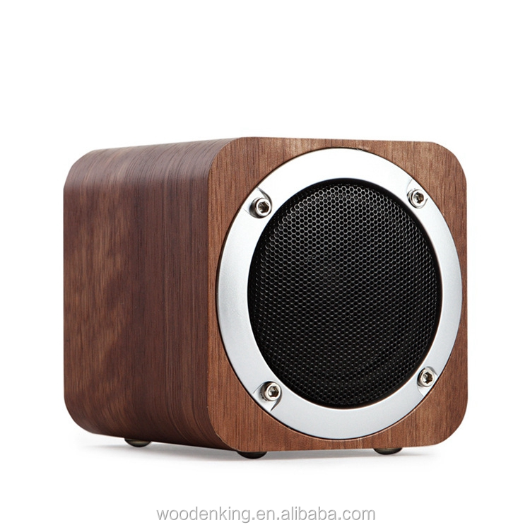 Original Wood Insert Card Solid Wood Gift Wholesale 2017 Bluetooth Wireless Speakers