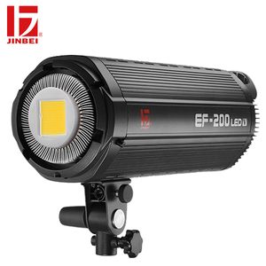 JINBEI EF-200 200W LED Video Light 5500K Light Photographic Equipment Continuous Output Lamp Bowens Mount Flash Light for Studio