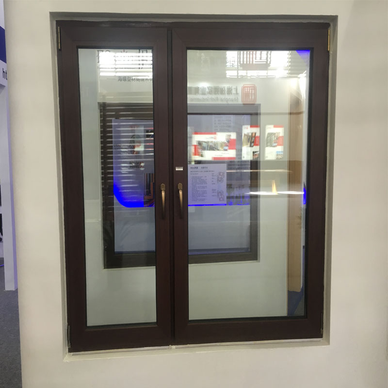 Prices of plastic frames double glazed glass replacement window section drawing