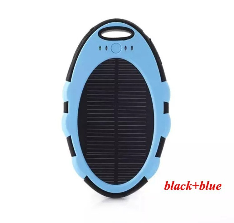Super Solar Charger waterproof powerbank ,backup Power Bank bateria external Portable For all Cellphone mobile phone/tablets