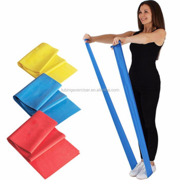 694951d737 Training Equipment Fitness Rubber Expander,Home Exercise Pilates Elastic  Stretch Resistance Band,Leg Pull