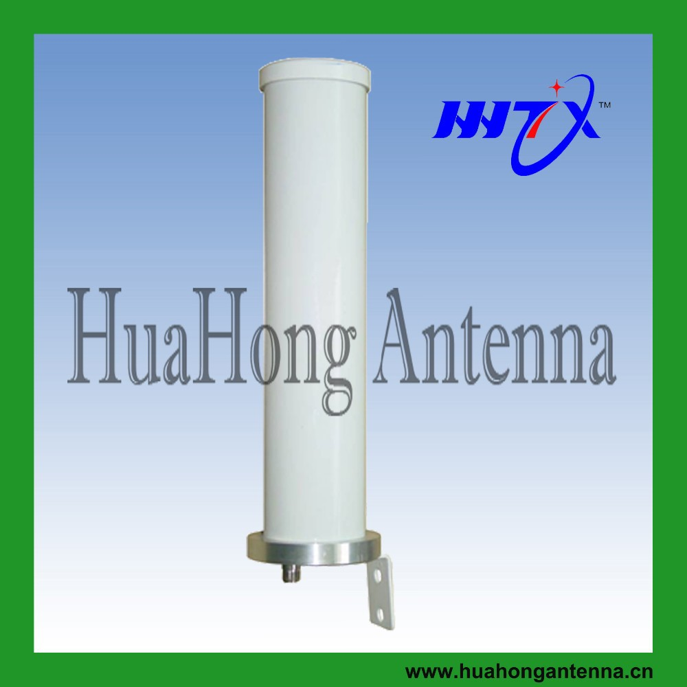 2.4G 9 dBi WiFi Circular Polarization Antenna/RHCP helical antenna with protected cover