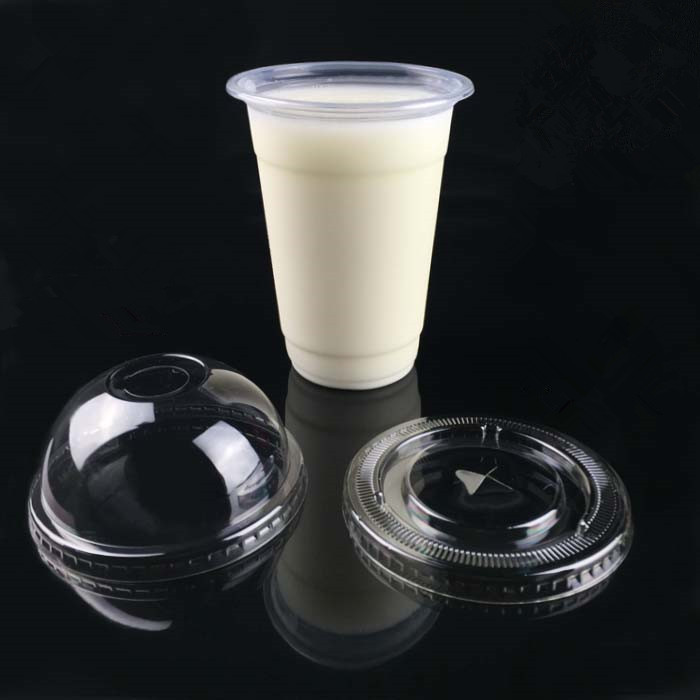 customied logo manufacture plastic yogurt cup