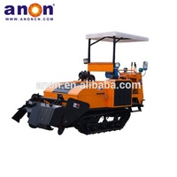 ANON farm tools and equipment agricultural crawler rotary tiller rotavator/cultivator