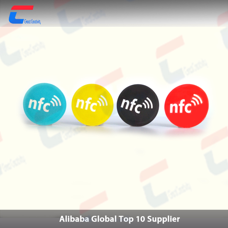 NFC Stickers NTAG213 Fully programmable, and NFC Tag works with Android
