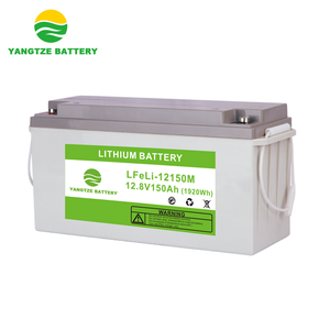 5000 cycles life 12v 150ah great power polymer li-ion lithium battery with BMS