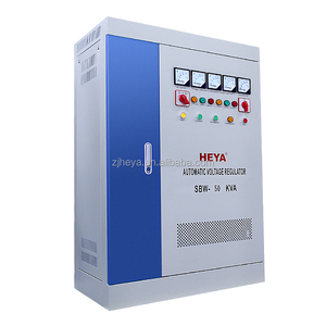 SBW DBW 50KVA 40KW Three Phase Four Wires Compensated Voltage Regulator Stabilizer
