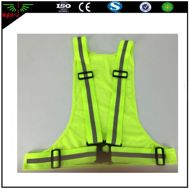 3m yellow or orange color reflective polyester cloth safety vest