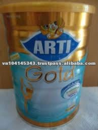 Milk Arti Gold Canxi 900g for peple 19 years old
