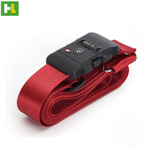 High quality hot selling luggage strap with handle gift wrap